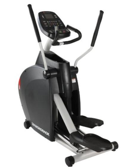 Diamondback Fitness 1260Ef Elliptical Trainer with Incline Compact Footprint and Heart Rate Monitor
