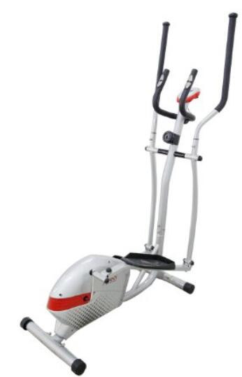 Sunny Health & Fitness SF-E3416 Magnetic Elliptical Trainer, Gray
