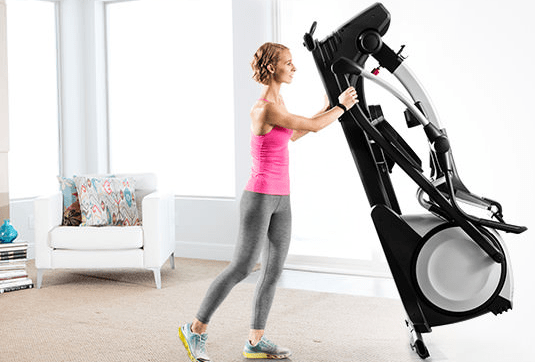 use folding elliptical